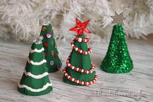 Weihnachtsdeko Tannenbaum