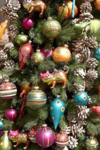 Weihnachtsdekoration Christbaum
