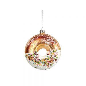 Christbaumschmuck Donut-Anhänger