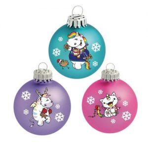 Pummeleinhorn's Weihnachtskugeln